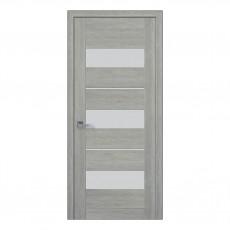 Межкомнатная дверь Лилу со стеклом сатин (ПВХ)
