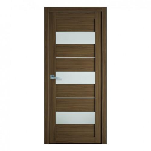 Межкомнатная дверь Лилу со стеклом сатин (Экошпон)
