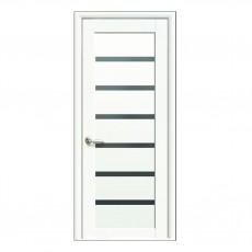 Межкомнатная дверь Линея со стеклом BLK (ПП)