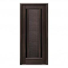 Межкомнатная дверь Луиза со стеклом BLK (ПВХ DeLuxe)