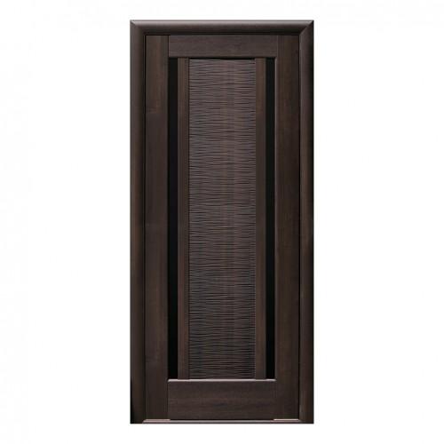 Межкомнатная дверь Луиза со стеклом BLK (ПВХ)