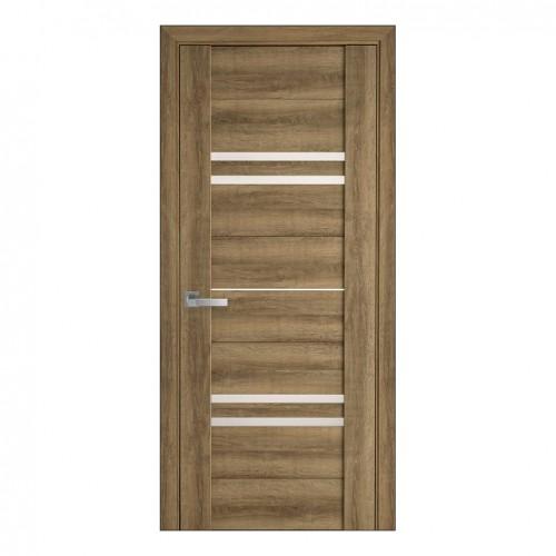 Межкомнатная дверь Мерида (ПВХ Viva) сатин
