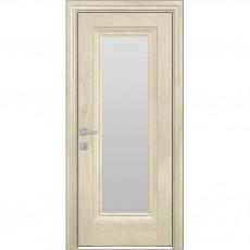 Межкомнатная дверь Милла со стеклом сатин
