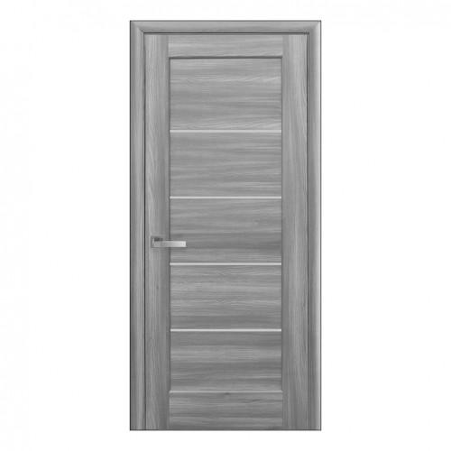 Межкомнатная дверь Мира со стеклом сатин (ПВХ)