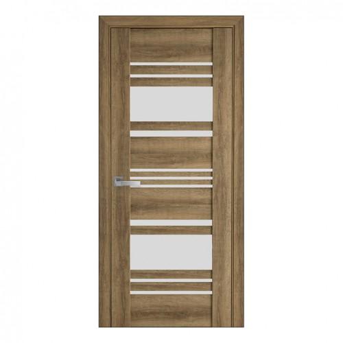 Межкомнатная дверь Ницца (ПВХ Viva) сатин