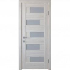 Межкомнатная дверь Пиана со стеклом сатин (ПВХ)