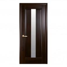 Межкомнатная дверь Премьера со стеклом сатин (ПВХ)