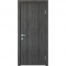 Межкомнатная дверь Рина глухая с гравировкой