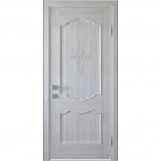 Межкомнатная дверь Рока глухая с гравировкой