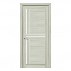 Межкомнатная дверь Тринити со стеклом сатин