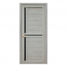 Межкомнатная дверь Тринити со теклом BLK
