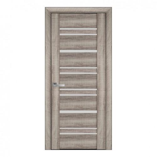 Межкомнатная дверь Валенсия (ПВХ Viva) сатин