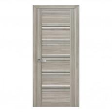 Межкомнатная дверь Виченца C1 со стеклом бронза