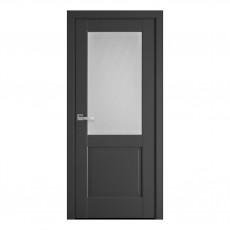 Межкомнатная дверь Эпика со стеклом сатин (ПП)