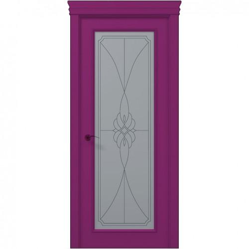 Межкомнатная крашенная дверь ART-01 (бевелс) ПАПА КАРЛО