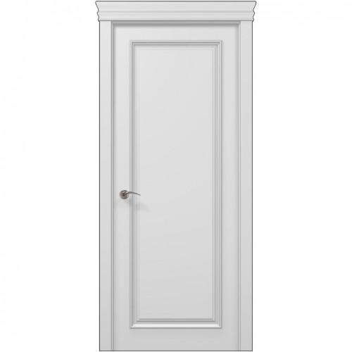 Межкомнатная белая дверь ART-01F (глухая) ПАПА КАРЛО