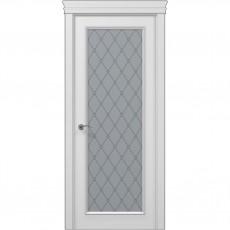 Межкомнатная белая дверь ART-01 (оксфорд) ПАПА КАРЛО