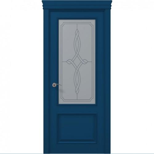 Межкомнатная крашенная дверь ART-02 (бевелс) ПАПА КАРЛО