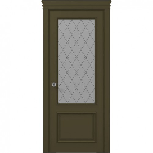 Межкомнатная крашенная дверь ART-02 (оксфорд) ПАПА КАРЛО