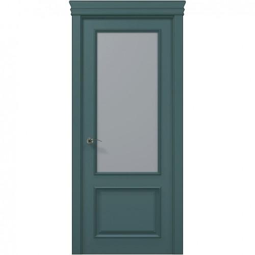 Межкомнатная крашенная дверь ART-02 (сатин) ПАПА КАРЛО