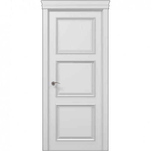 Межкомнатная белая дверь ART-03 (глухая) ПАПА КАРЛО