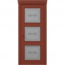 Межкомнатная крашенная дверь ART-03 (бевелс) ПАПА КАРЛО