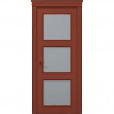Межкомнатная крашенная дверь ART-03 (сатин) ПАПА КАРЛО