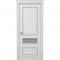 Межкомнатная белая дверь ART-04 (оксфорд) ПАПА КАРЛО