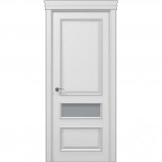 Межкомнатная белая дверь ART-04 (сатин) ПАПА КАРЛО