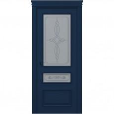 Межкомнатная крашенная дверь ART-05 (бевелс) ПАПА КАРЛО