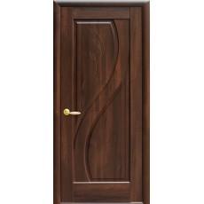 Межкомнатная дверь Прима глухая с гравировкой (ПВХ)