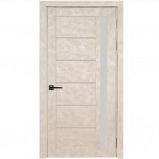 Межкомнатная дверь УЮТ UM-1 со стеклом (ПВХ 2-й категории)