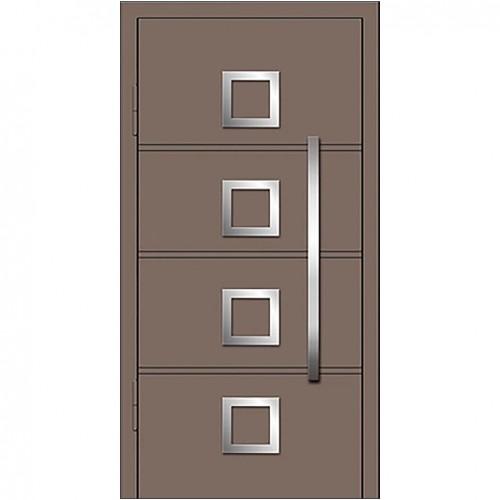 Магнат А10 (одинарные) в дом   Входные двери Альянс БЦ