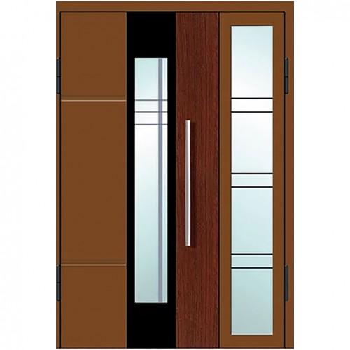 Магнат А23 (двойные) со стеклом в дом
