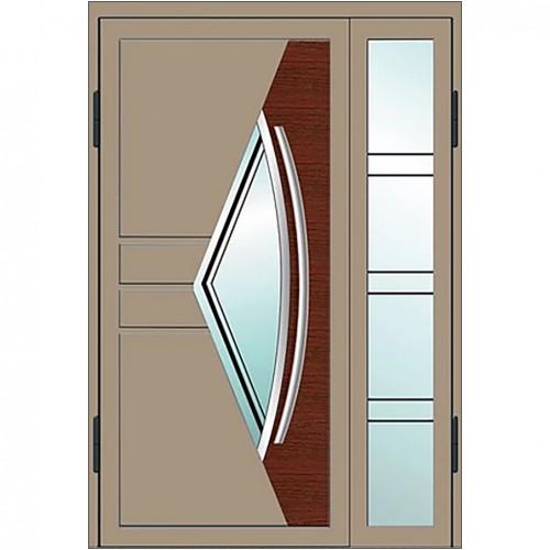 Магнат А25 (двойные) со стеклом в дом