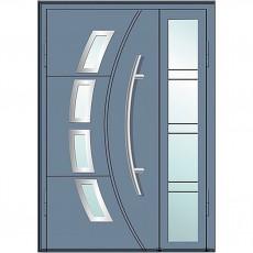 Магнат А6 (двойные) со стеклом в дом