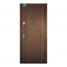 Входные двери ПБ-180 (Дуб темный) в квартиру