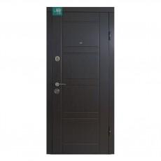 Входные двери ПK-09 Венге (структурный/светлый)  в квартиру