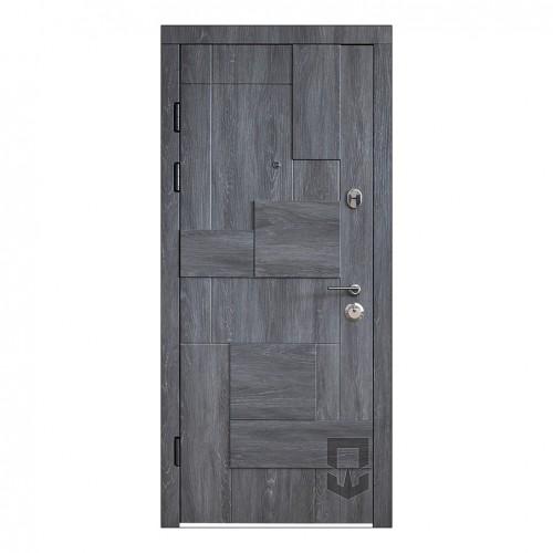 Входные двери ПАТРИОТ Domino 3D LS_Secureme в квартиру