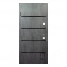 Входные двери ПАТРИОТ Соло Black (DEC) PS в квартиру