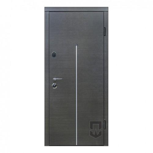 Входные двери ПАТРИОТ Вертикаль (AL) PS в квартиру