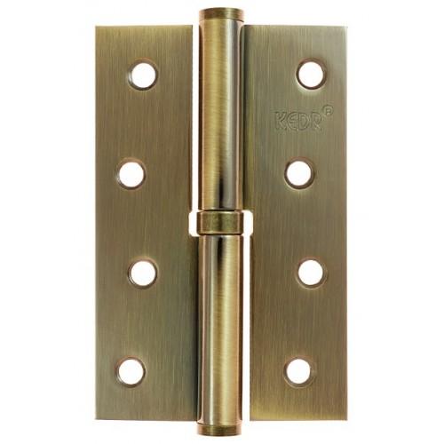Петля дверная разъемная KEDR 100*62 L/R