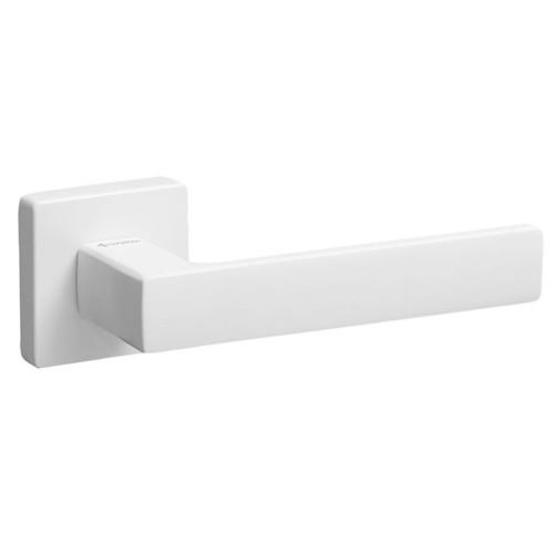Ручка дверная ТМ System FOSIL Белый матовый