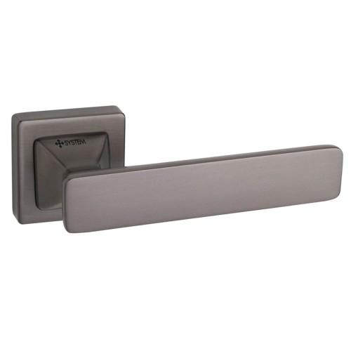 Ручка дверная ТМ System IDA Черный матовый никель