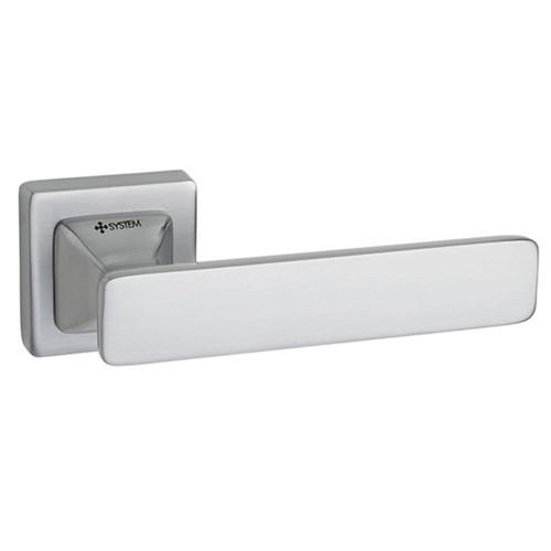 Ручка дверная ТМ System IDA Матовый хром