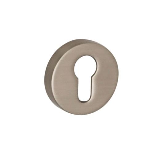 Накладка под цилиндр ТМ SYSTEM матовый никель