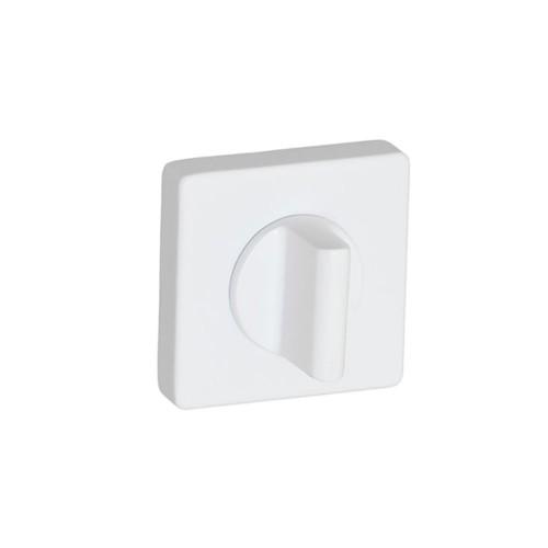 Фиксатор ТМ SYSTEM (квадрат) белый матовый