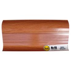 Плинтус 2,5м BudMonster дикая вишня (20шт/уп)