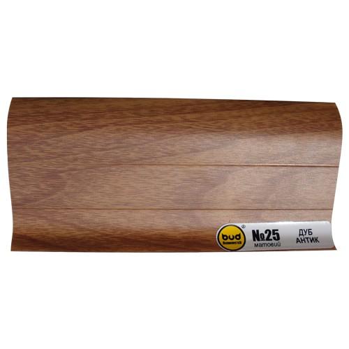 Плинтус мат. 2,5м BudMonster дуб антик (20шт/уп)