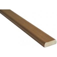 Притворная планка ПВХ DeLuxe (Н. Стиль) 35*8 мм  (д/двой двер.) (шт.)